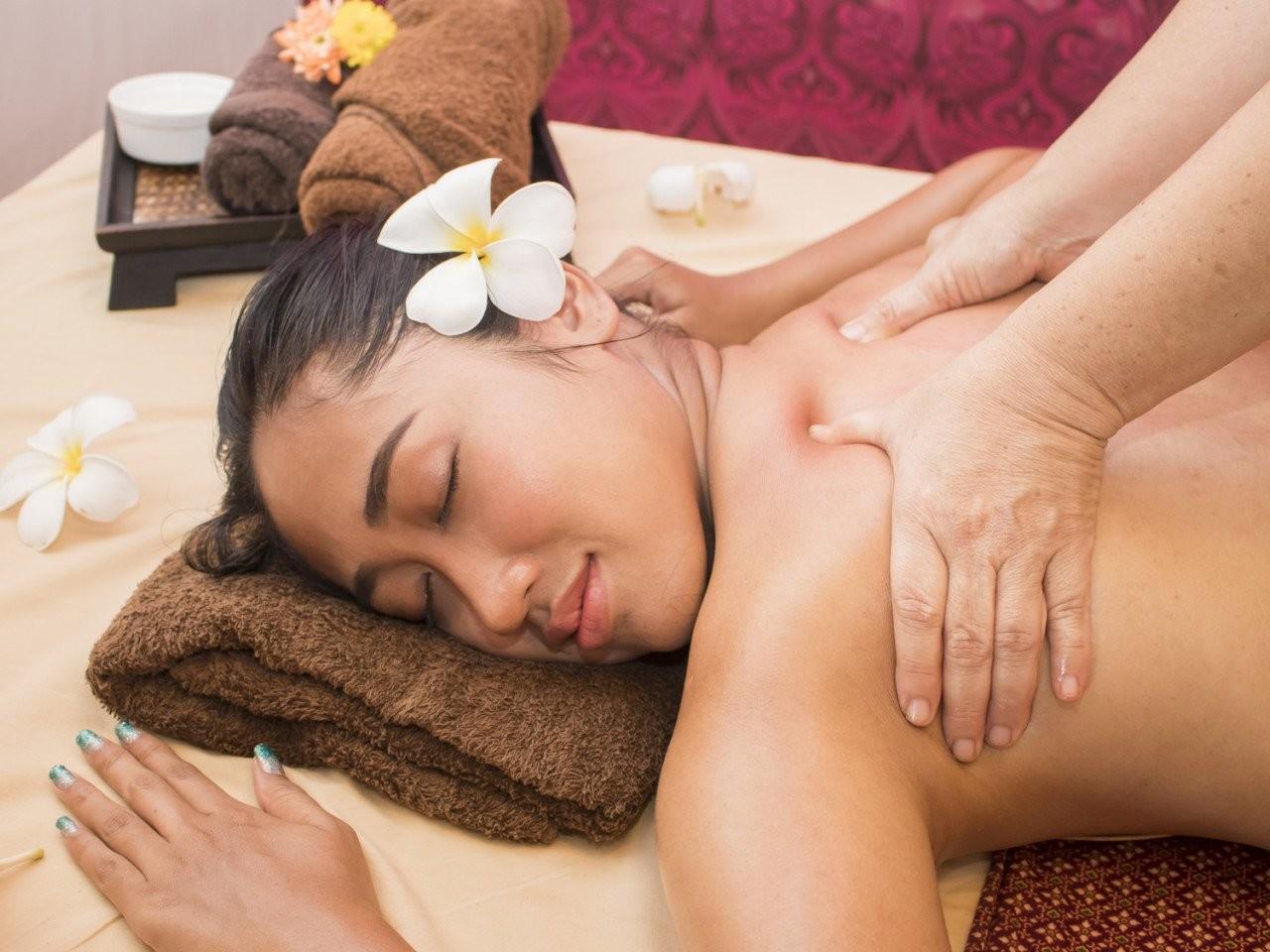Традиционный тайский массаж - Вилла Baan Phulay Koh Samui